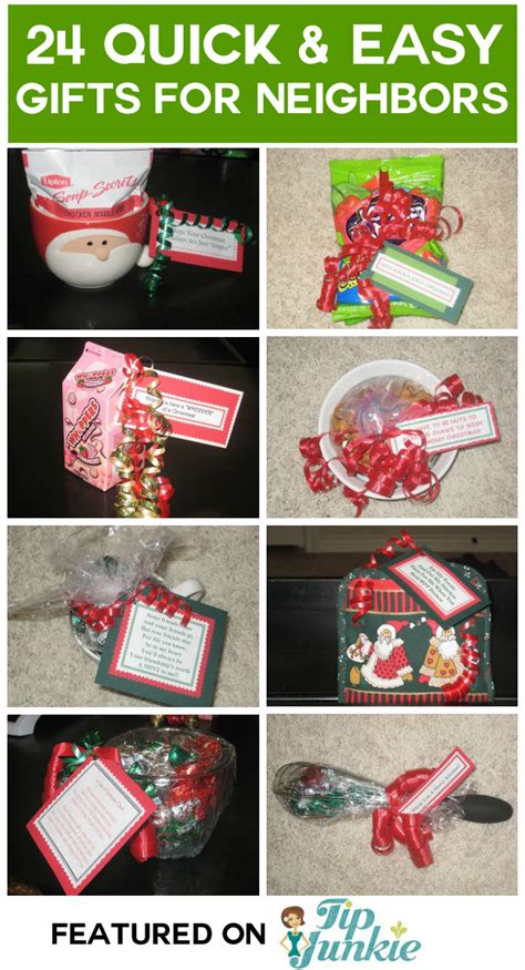 10 easy christmas gifts to make for neighbors 24 easy cheap gift ideas tip junkie