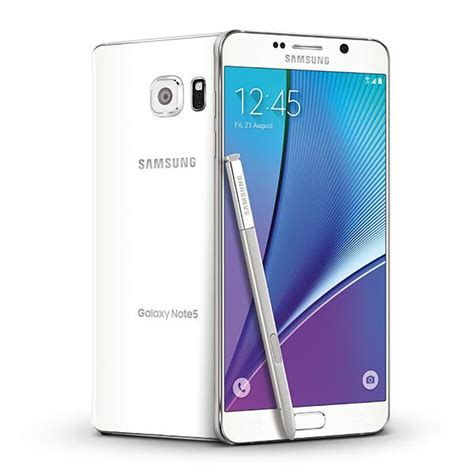 Samsung Galaxy Note5 samsung galaxy note 5 white 32gb at t cell