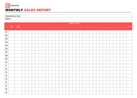 sales reports templates free sales report templates 10 monthly and weekly sales