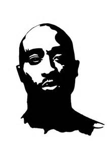 2pac Outline by Tupac Artwork 9 By 00makaveli00 On Deviantart