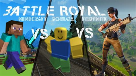 fortnite vs roblox minecraft vs roblox vs fortnite battle royal skyrinia