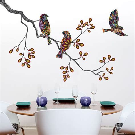 stencil stickers for walls 17 best images about floral wall decals on big