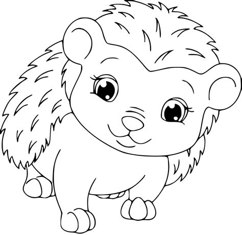 cute hedgehog coloring pages hedgehog coloring page getcoloringpages com