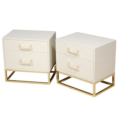 White And Gold Nightstand Best 25 Gold Nightstand Ideas On Standing Table Ikea White Bedroom Furniture From