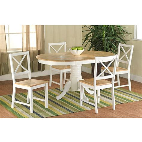 farmhouse dining table white walmart