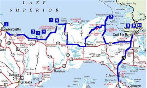 driving boat michigan edmund fitzgerald driving map 2 shipwreck tours http