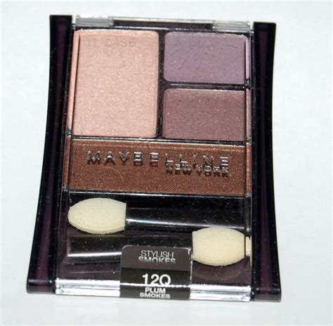 Maybelline Eyeshadow maybelline expert wear eyeshadow color plum smokes 595equ 12q