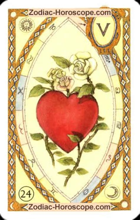 the heart meaning of the astrological tarot cards