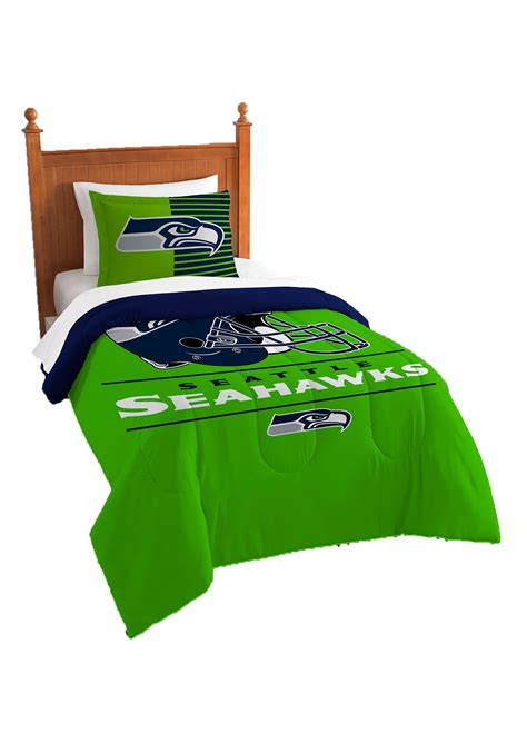 seahawks bed set seattle seahawks twin comforter set