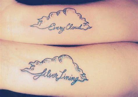 silver lining tattoo silver lining tattoos silver lining
