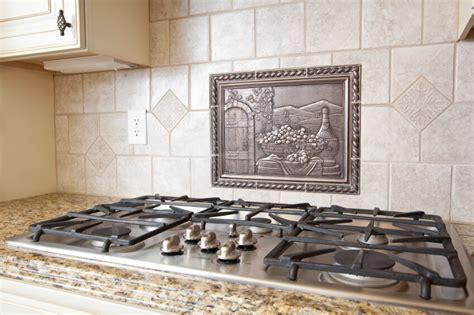 tile backsplash designs over stove   Home Decor
