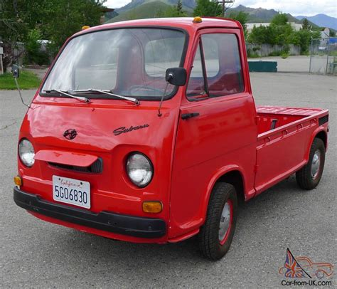 1969 Subaru Sambar 39k Completely Original And Fully