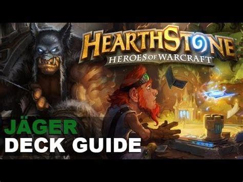 heartstone jäger deck hearthstone j 228 ger deck guide tutorial hd
