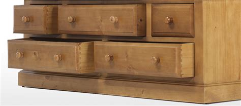 Pine Wardrobes With Drawers by Essentials Pine Wardrobe With Drawers Quercus Living