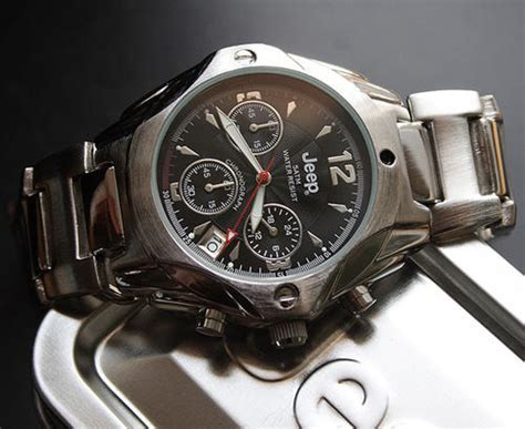 Jeep Watches S Watches Jeep Gents Chronograph Black Jpk31c