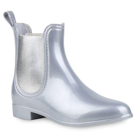 Lack Stiefeletten Damen by Damen Gummistiefel Lack Stiefeletten Chelsea Boots
