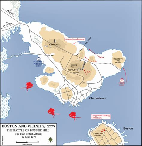 united states map of native american tribes map of the battle of bunker hill june 17 1775 first british attack