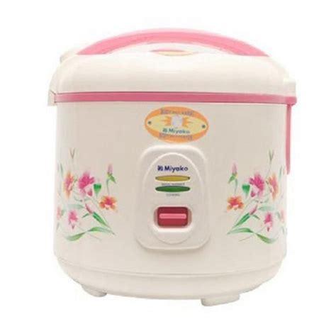 Rice Cooker Miyako Mcm 706 jual miyako mcm 507 rice cooker harga kualitas terjamin blibli