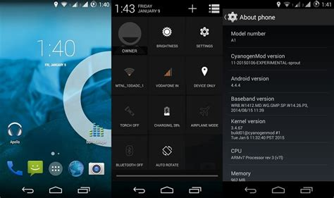 android cyanogenmod how to install official cyanogenmod 11 rom on android one devices