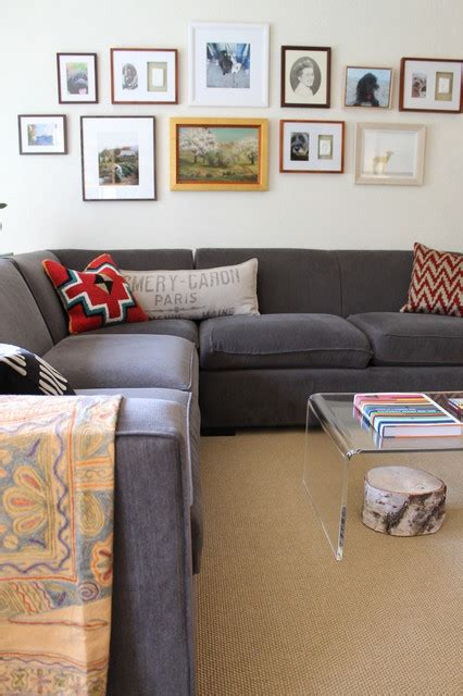 room and board los angeles room board sectional sofa in apartment eclectic living room los angeles by