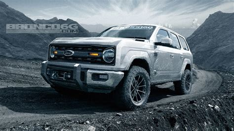ford bronco 2020 ford bronco will four doors and 325 hp