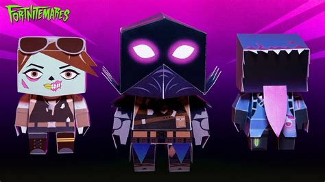 epic games releasing fortnite papercraft series cogconnected
