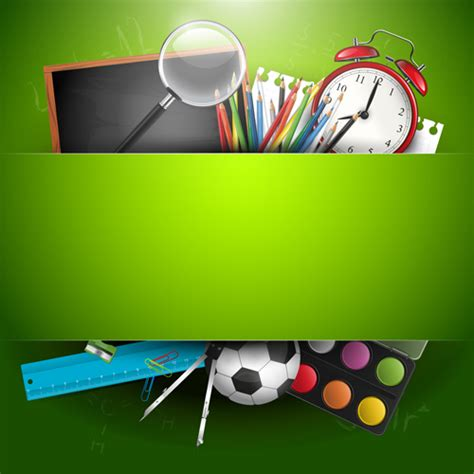 background design school school backgrounds set 01 vector background free download