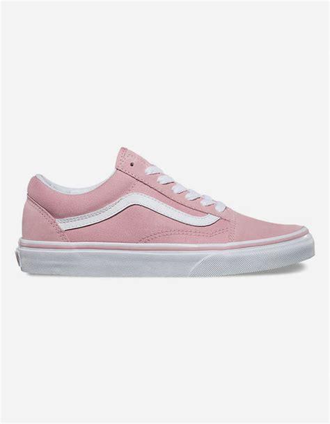 light pink low top vans vans skool womens shoes 287468380 sneakers