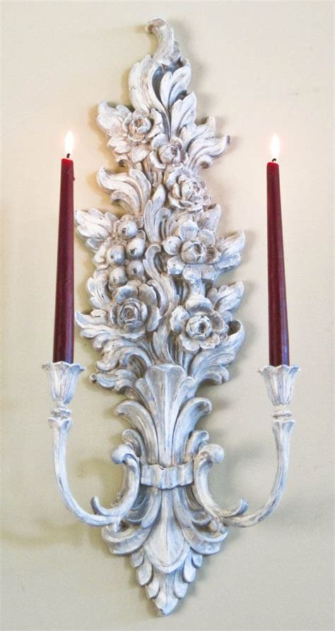 french country wall candle sconce large double olliesfinethings sitting room candle sconces candle wall sconces sconces