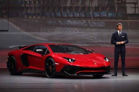 Lamborghini Aventador Production Lamborghini Limits Aventador Lp 750 4 Sv Production To