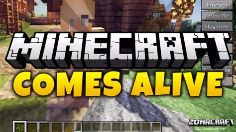 In Comes Alive by Minecraft Comes Alive Mod Para Minecraft 1 12 2 1 10 2 1 9