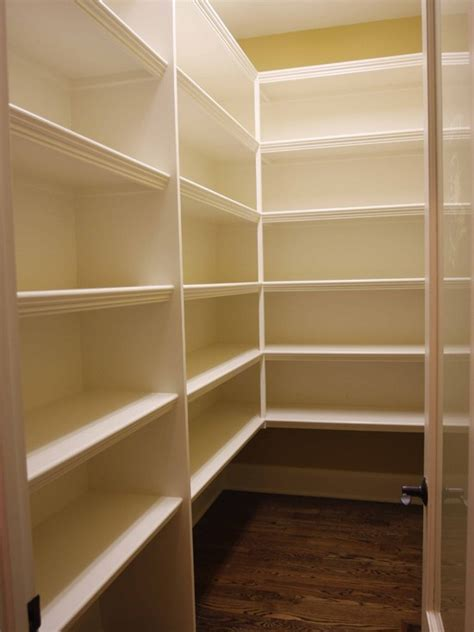 Wood Pantry Shelving Save Email