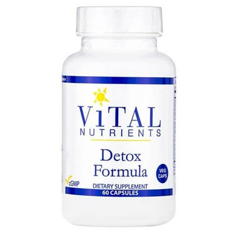 Vital Detox Reviews by Detox Formula 60 Vcaps Health Store Vitamins