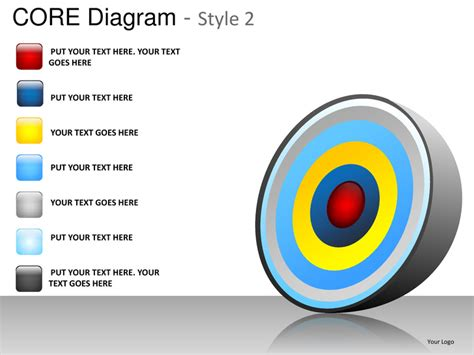 Core Diagram Style 2 Powerpoint Presentation Templates Ppt Slide 2