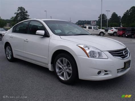 nissan altima white 2010 2010 winter white nissan altima 3 5 sr 31256813
