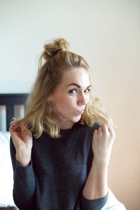 5 snelle kapsels voor halflang tot lang haar youtube makkelijke haarstijlen halflang haar