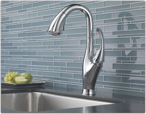 How To Install Kitchen Faucet Complete Your Kitchen With The Delta Kitchen Faucets Designwalls