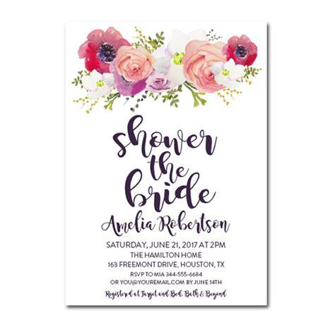 bridal shower free pdf editable pdf bridal shower invitation diy shower the