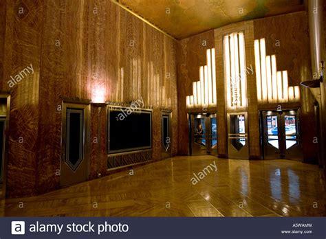 chrysler building lobby interior lobby detail on the chrysler building in new york