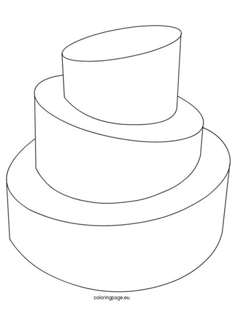 Wedding Cake Template by Wedding Cake Outline Www Imgkid The Image Kid Has It