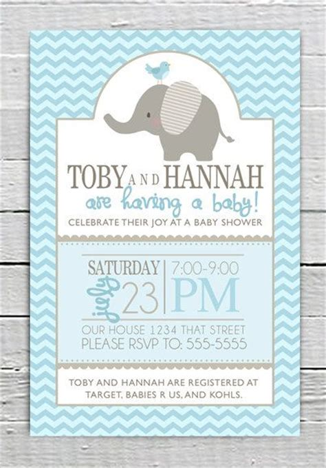 Printable Elephant Baby Shower Invitations Theruntime Com Elephant Baby Shower Invitations Free Template