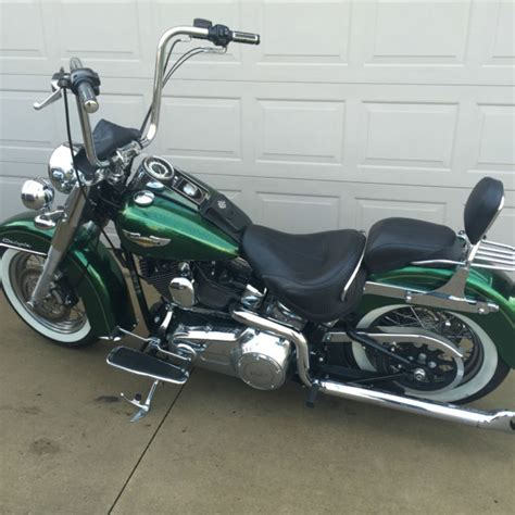 2013 Harley Davidson Softail Deluxe by 2013 Harley Softail Deluxe Apple Green