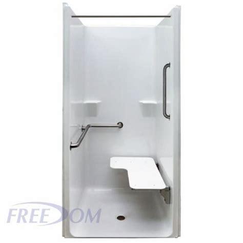 Transfer Shower by Freedom Ada One Transfer Shower Stall