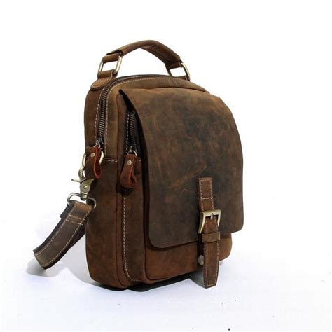 Handcrafted Leather Products - handcrafted vintage leather satchel bag