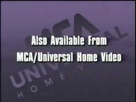 also available from mca universal home