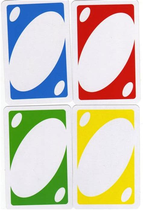 blank uno card white gold