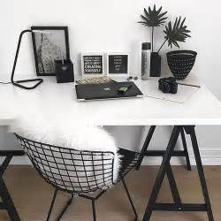 black and white desk chair 25 best ideas about desk inspiration on desk