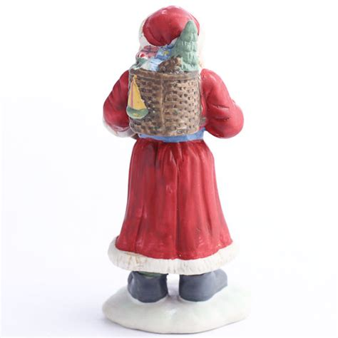 ceramic santa figurines christmas and winter sale