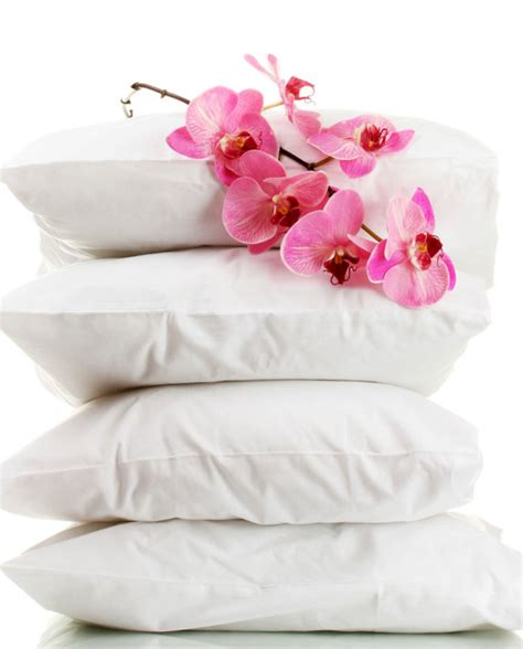 Five Hotel Pillows by Hotel Sleeping Pillows 4 The Linen Factory Retail Store