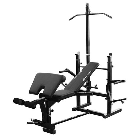 lat bench new lifespan mf2000 home fitness gym bench press lat